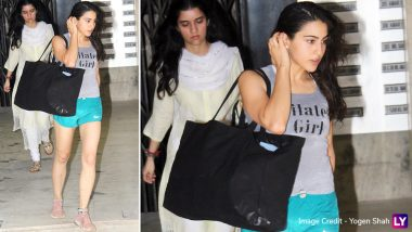 Like Kareena Kapoor Khan, Step-Daughter Sara Ali Khan Is Also a Pilates Girl, View Pics Inside