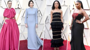 Oscars 2019 Worst-Dressed: Charlize Theron, Tessa Thompson and Sarah Paulson Score Low on Our Fashion Meter