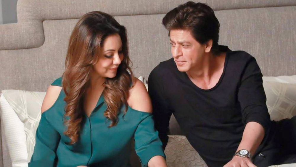 Shah Rukh Khan and Gauri Khan.