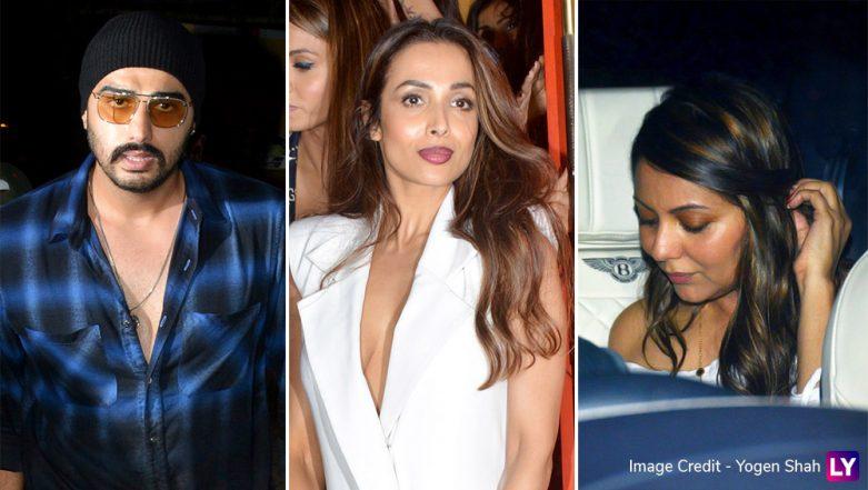Malaika Arora, Arjun Kapoor, Karisma Kapoor and Gang Attend Party Organized by Gauri Khan (View Inside Pics)