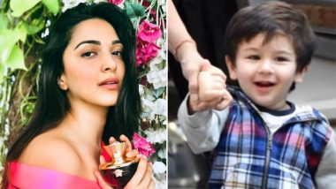 Taimur Ali Khan Competes With Kiara Advani And Guess Who Won The Race? - Watch Video