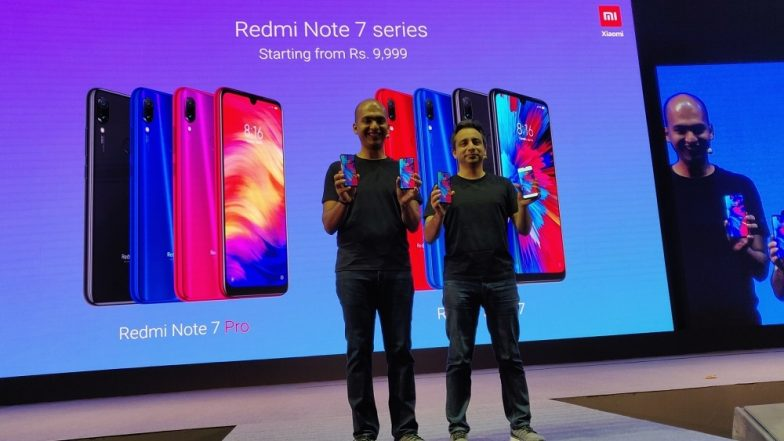 Xiaomi Finally Launched Redmi Note 7 Pro & Redmi Note 7 Smartphones; Priced in India at Rs 9999 & Rs 13,999