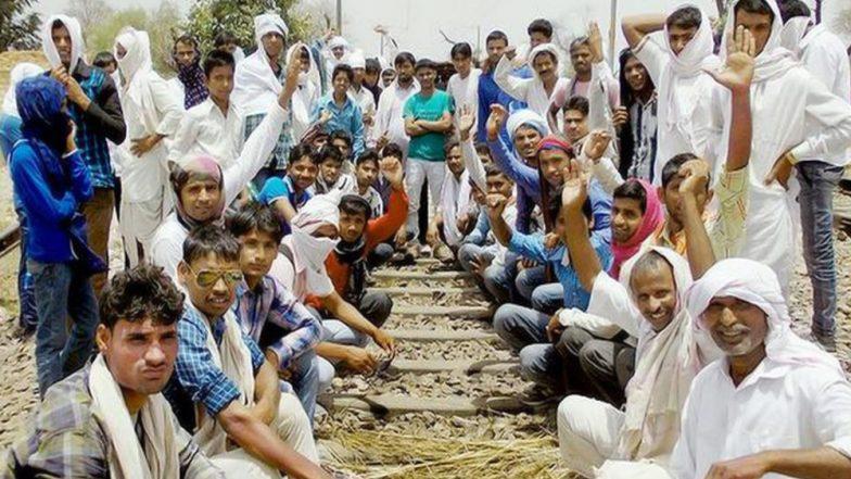 Gujjar Quota Stir Intensifies in Rajasthan, Train Service Hit, Internet Shut In Sawai Madhopur Till February 13