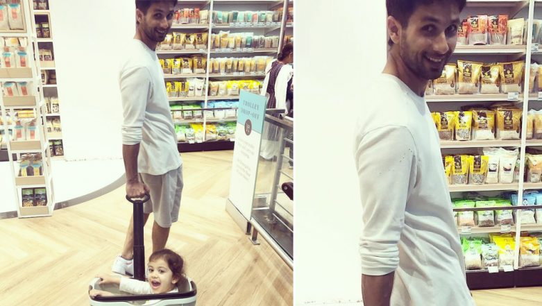 Mira Rajput Shares An Adorable Picture Of Shahid & Misha! Who Ordered For Sweets Today?