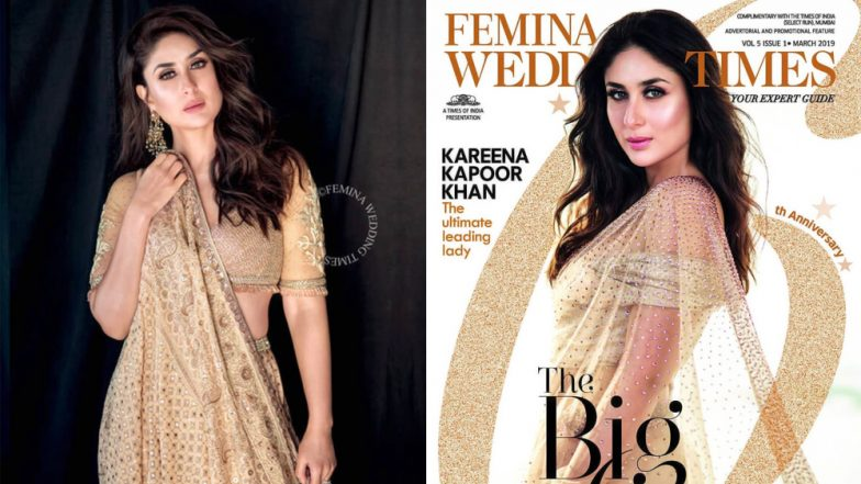 Kareena Kapoor Khan's New Magazine Photoshoot Proves All That Glitters IS Gold - View Pics