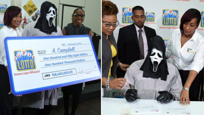 Lottery Winner Hides from Greedy Relatives by Wearing 'Scream' Mask