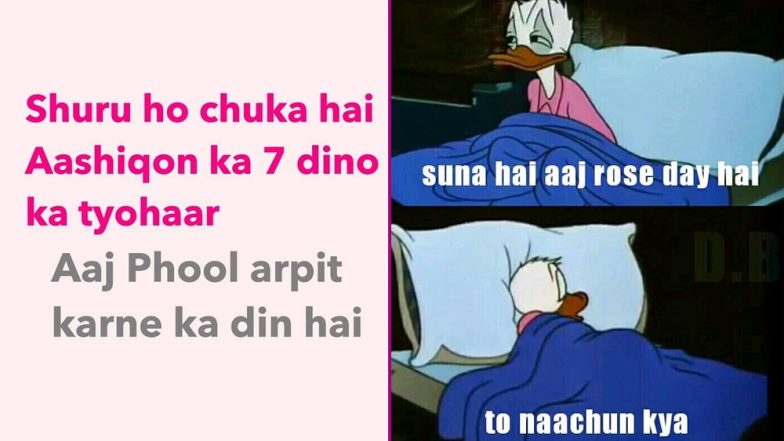 Rose Day 2019: Memes and Jokes for Single Aashiqs That Will Tickle Your Funny Bones during This Valentine Week