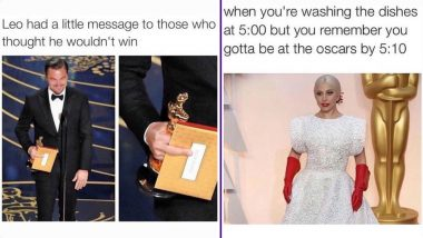 Oscars 2019 Memes: From Leonardo DiCaprio's Oscar Snub to Lady Gaga's Sartorial Choices, Funny Academy Award Jokes That Made Us LOL