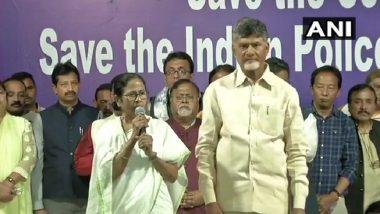 Mamata Banerjee Ends Dharna Near the Metro Channel in Kolkata, Announces Opposition Programme in Delhi Next Week