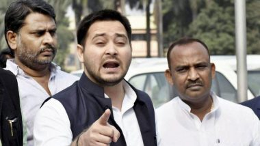 Delhi Assembly Elections 2020: RJD's Tejashwi Yadav to Hold Roadshows, Public Meetings for His Party and Congress Candidates