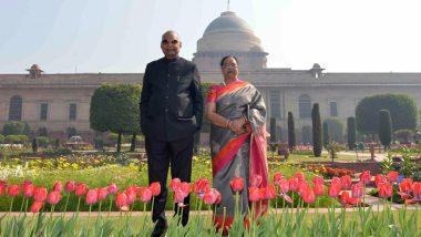 Udyanotsav 2019: Rashtrapati Bhavan's Mughal Gardens Open for Public; See Pictures of Beautiful Flowers