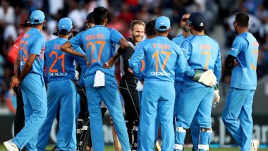 India vs New Zealand 2020 Schedule: Indian Cricket Team to Play 5 T20Is, 3 ODIs and 2 Tests Against Kiwis Early Next Year