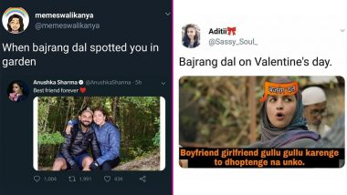Anti-Valentine's Day 2019: Funny Bajrang Dal Memes and Jokes That Are So Dank That It Is Crazy