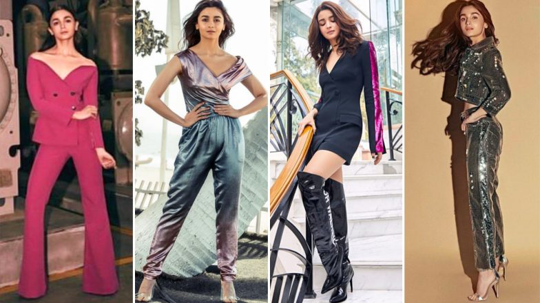Alia Bhatt's Style File for Gully Boy Promotions Was a Combination of Different Silhouettes and Simple Styling - View Pics