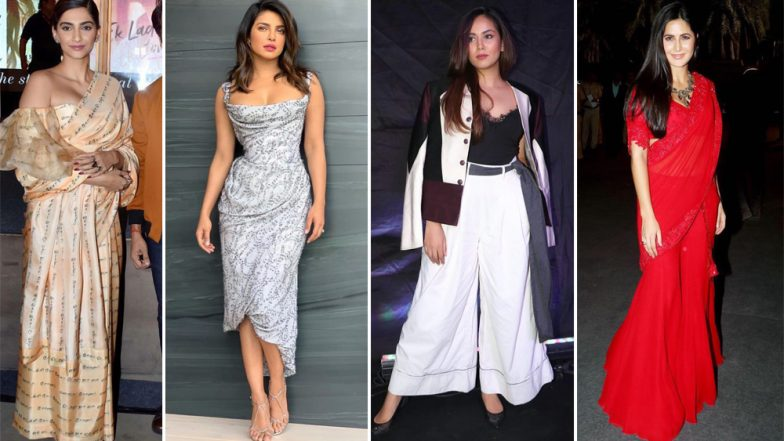 Sonam Kapoor, Katrina Kaif and Priyanka Chopra's Style Statements Get a Tick in All the Right Departments - View Pics