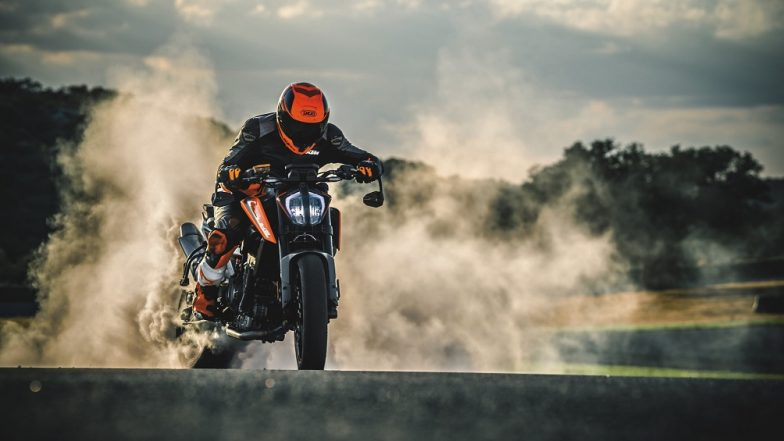 2019 KTM 790 Duke With Black Colour Spotted At Bajaj Training Facility Ahead of India Launch