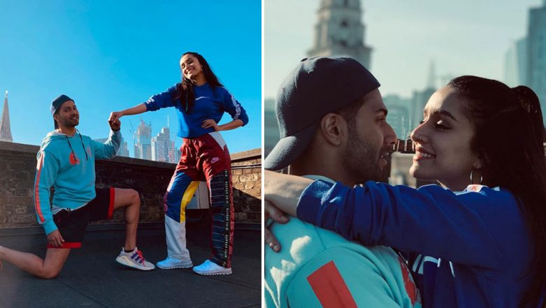 From London With Love! 'Street Dancers' Varun Dhawan and Shraddha Kapoor Send Valentine's Day Wishes For Their Fans