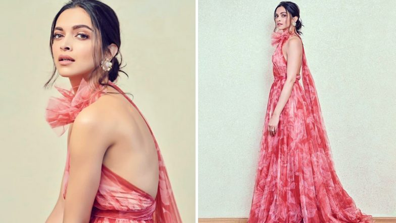 Deepika Padukone Looks Pretty in Pink in her Recent Fashion Appearance for an Event - View Pics