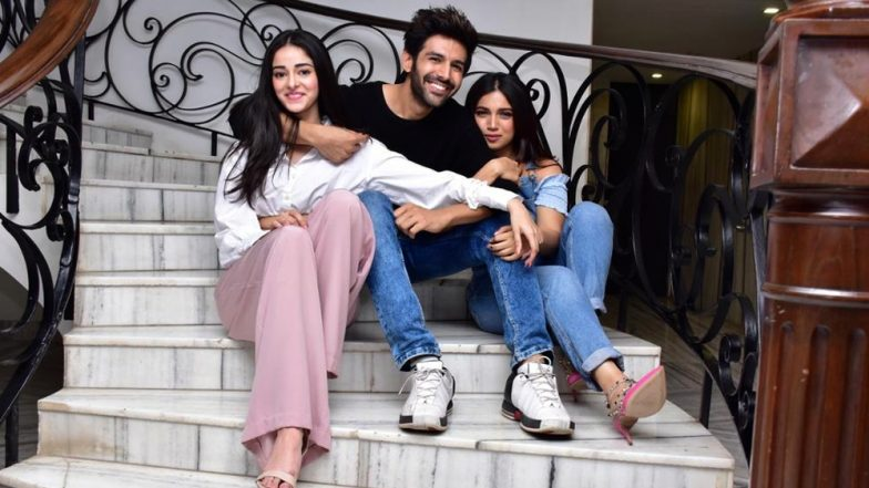 Pati Patni Aur Woh: Kartik Aaryan, Ananya Panday and Bhumi Pednekar Starrer to Release on January 10, 2020
