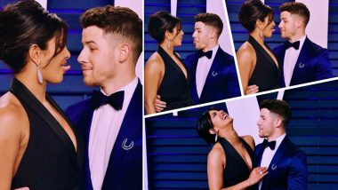 Vanity Fair Oscars After Party: From Fixing Her Husband's Hair to Sticking Their Tongues Out, Priyanka Chopra and Nick Jonas' PDA Steals the Show - See Pics!