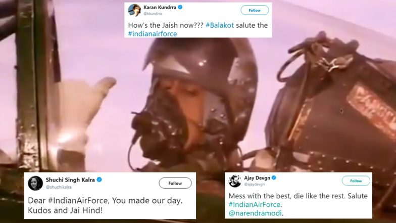 Surgical Strike 2: India Celebrates IAF's Victorious Strikes on JeM Terror Camps Across LoC; Check Tweets