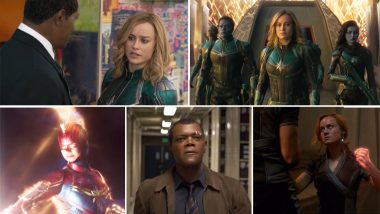 Captain Marvel New Teaser: Brie Larson in This TV Spot Aired During Grammys 2019 Has Some Never-Seen-Before Snippets; Watch Video!