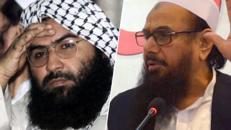 Pulwama Attack Fallout: Masood Azhar, Hafiz Saeed Directed to go Underground as International Pressure Mounts on Pakistan