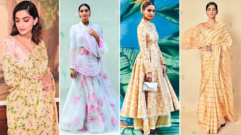 Sonam Kapoor's Style File for Ek Ladki Ko Dekha Toh Aisa Laga Promotions is Equal Parts Chic and Charming - View Pics
