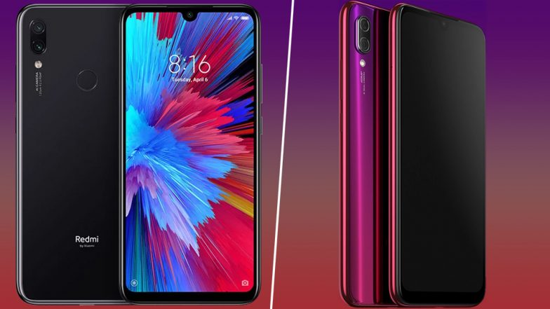Xiaomi Redmi Note 7, Redmi Note 7 Pro Smartphones Launched; Priced in India at Rs 9999 & Rs 13,999