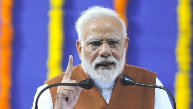 Narendra Modi Condemns 'Dastardly Attack' on CRPF in Jammu and Kashmir's Pulwama District