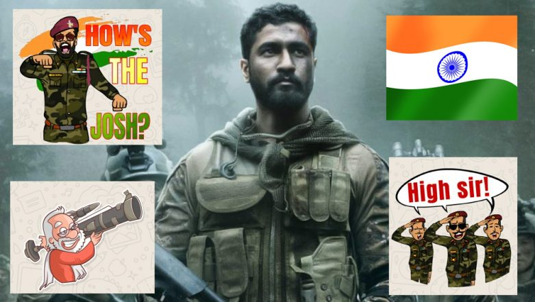 Surgical Strike 2: Download How's the Josh, Jai Hind and Narendra Modi Patriotic WhatsApp Stickers & GIFs for Free to Celebrate IAF's Strike on JeM Camps