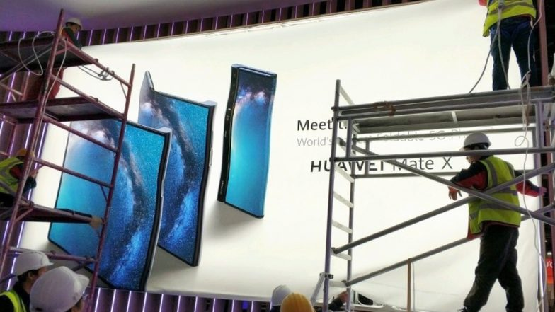 Huawei Mate X Foldable 5G Smartphone Poster Leaked Ahead of Launch at MWC 2019