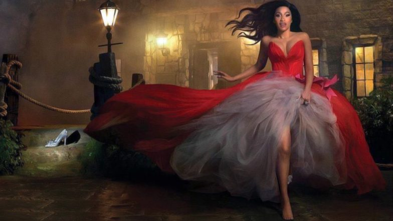 Cardi B's Latest Photoshoot With Harper's Bazaar Is All About Fairytales & A Reminder of The 'Shoe Throwing' Incident With Nicki Minaj