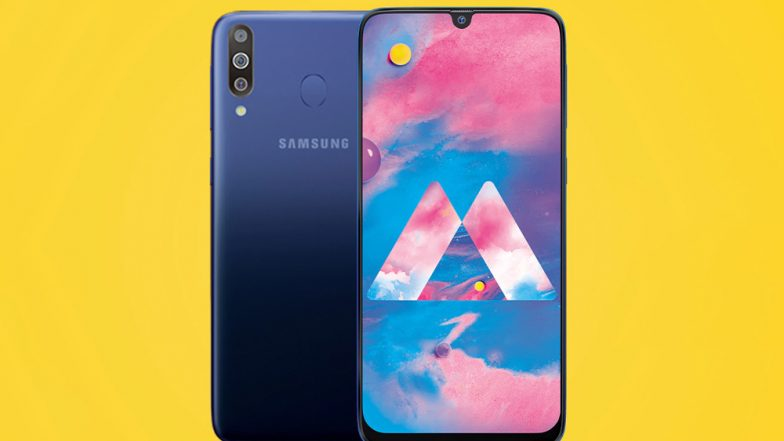 Samsung Officially Unveiled New Galaxy M30 Smartphone; Priced in India At Rs 14,990