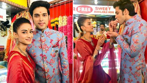 Kasautii Zindagii Kay 2: Parth Samthaan, Erica Fernandes Seek Blessings at Siddhivinayak Temple Ahead of Their Onscreen Wedding – View Pics