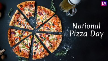 National Pizza Day 2019: Melty, Delicious Pizzas That Will Give You a Foodgasm Just By Looking (Watch GIFs and Videos)
