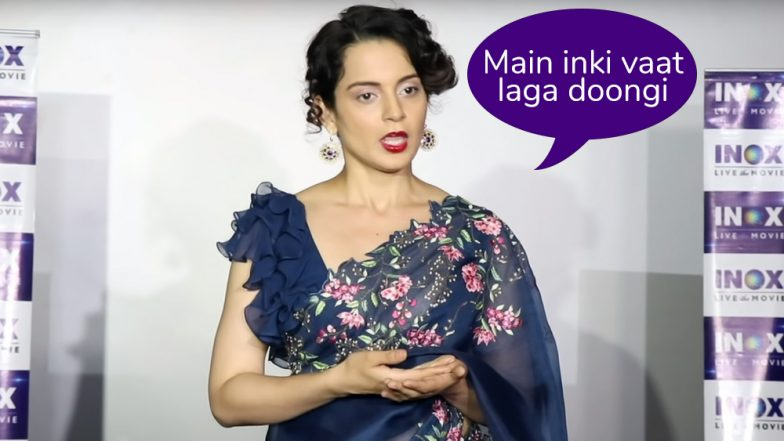 Kangana Ranaut Vs Bollywood: The Big Spat We Can't Wrap Our Head Around