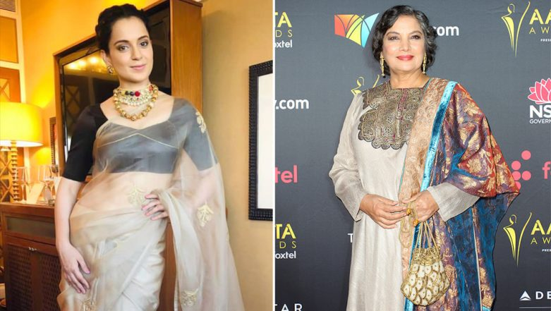 Pulwama Terror Attack: Kangana Ranaut Tags Shabana Azmi as Anti-National, Believes Destruction of Pakistan is the Only Solution