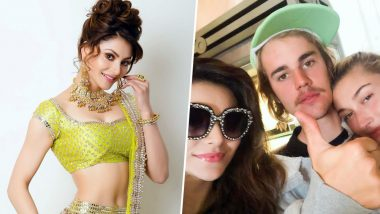 Urvashi Rautela Enjoys a Pre-Birthday Bash with Justin Bieber and Hailey Baldwin and We Can't Believe It
