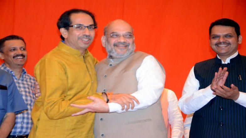 Lok Sabha Elections 2019: BJP, Shiv Sena Announce Alliance After Playing Hard Ball on Seat-Sharing
