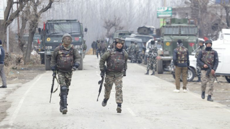 Jammu and Kashmir: One Terrorist Killed in Encounter in Sopore, Gunfight Underway