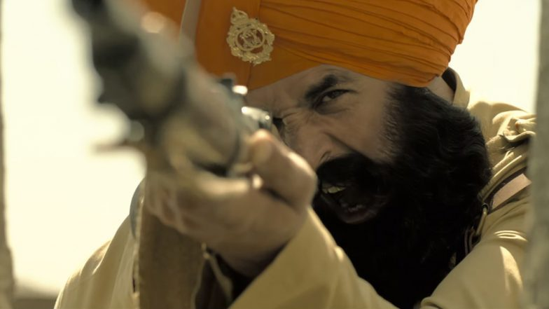 It's battle time in the teaser of Akshay Kumar's 'Kesari'