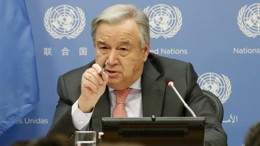 UNSC Resolutions on Kashmir Need to Be Implemented: Secretary General Antonio Guterres