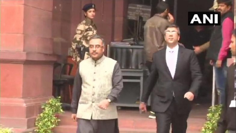 Pulwama Terror Attack: India Lodges Protest; Pakistan High Commissioner Sohail Mahmood Summoned by MEA