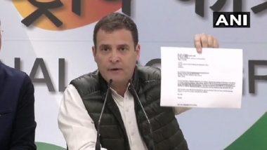 Rafale Deal Row: Narendra Modi Acted As Anil Ambani's Middleman, Committed 'Treason', Says Rahul Gandhi