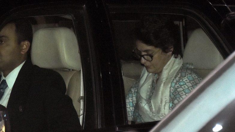 Priyanka Gandhi Vadra Flies Off to Jaipur After Mega Roadshow With Rahul Gandhi in Lucknow