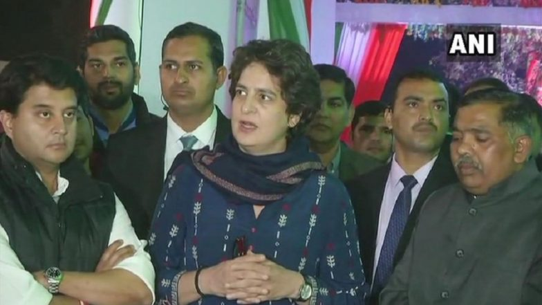 Lok Sabha Elections 2019: Priyanka Gandhi Vadra in Action, Congress Announces Alliance With Mahan Dal in Uttar Pradesh