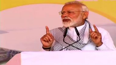 Prime Minister Narendra Modi in Yavatmal: Sacrifices of Jawans Won't Go in Vain, Says PM on Pulwama Terror Attack