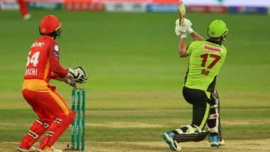 AB de Villiers Smashes His First Six of PSL 2019 During Islamabad United vs Lahore Qalandars, Watch Video Highlights