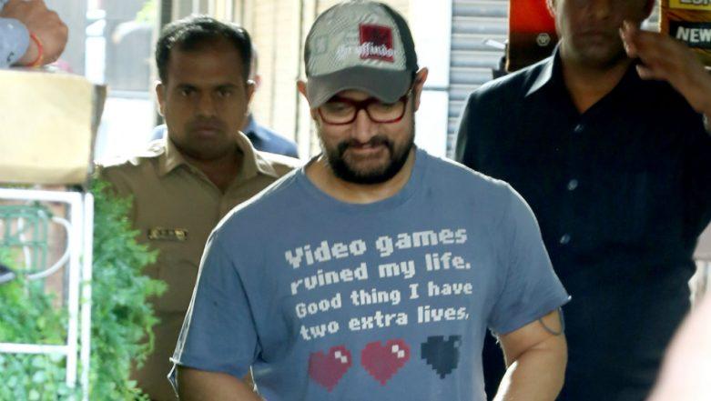Aamir Khan's 'Video Games Ruined My Life' T-Shirt Slogan Will Make Every Gamer Say 'Winner Winner!' (View Pics)